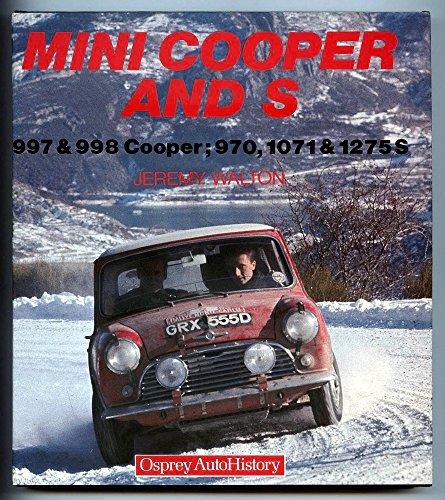 9780850458688: Mini Cooper and S: 997 & 998 Cooper, 970, 1071 & 1275 S