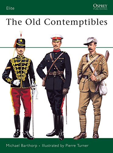 9780850458985: The Old Contemptibles (Elite)