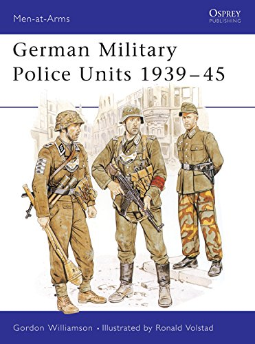 9780850459029: German Military Police Units 1939-45