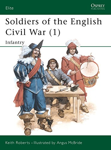 9780850459036: Soldiers of the English Civil War (1): Infantry: Infantry Vol 1 (Elite)