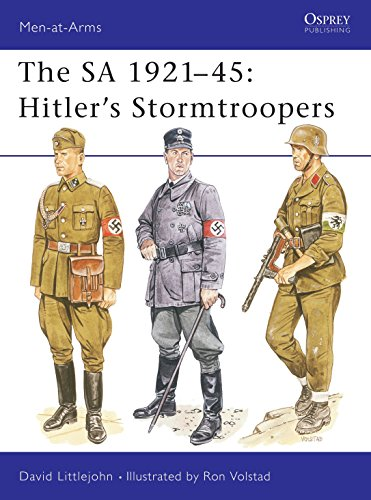 9780850459449: The Sa 1921-45: Hitler's Stormtroopers