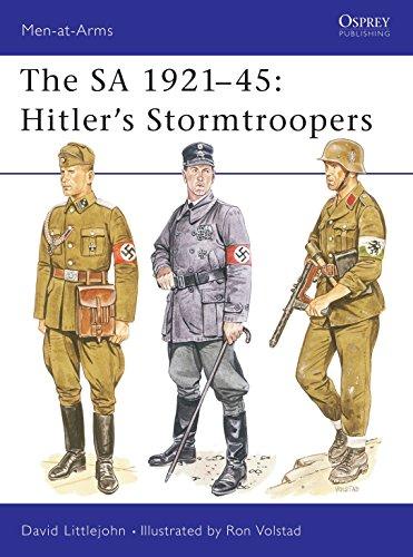 The SA 1921-45: Hitler's Stormtroopers (Osprey MAA 220): Littlejohn, David