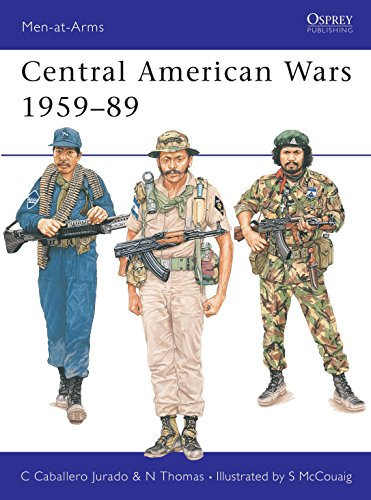 9780850459456: Central American Wars, 1959-89 (Men-at-Arms)