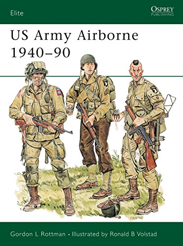 9780850459487: US Army Airborne 1940-90: The First Fifty Years (Elite)