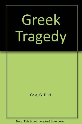 9780850466645: Greek Tragedy