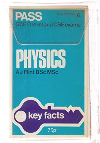 9780850471892: Physics: Cards (Key Facts)