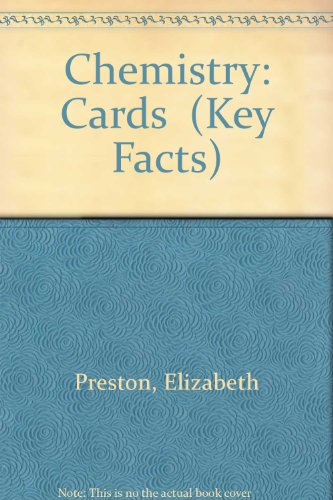 9780850471908: Chemistry: Cards (Key Facts)