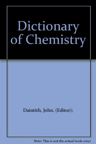 9780850479362: Dictionary of Chemistry