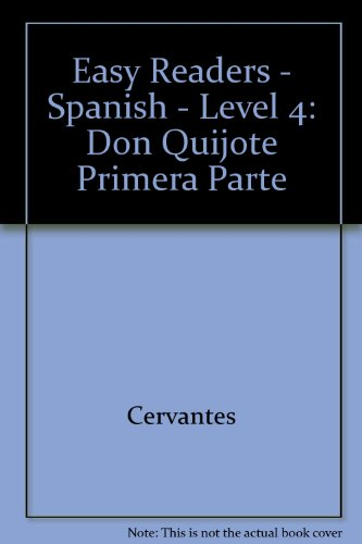 9780850485592: Easy Readers - Spanish - Level 4: Don Quijote