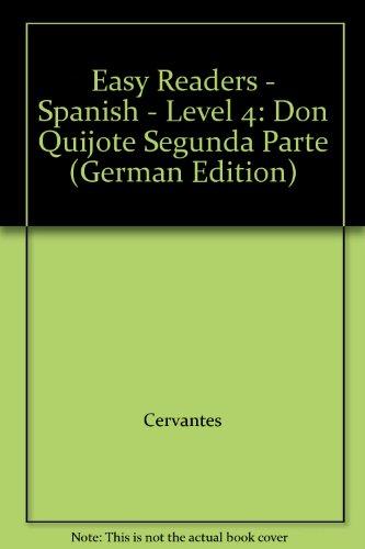 9780850485899: Easy Readers - Spanish - Level 4: Don Quijote