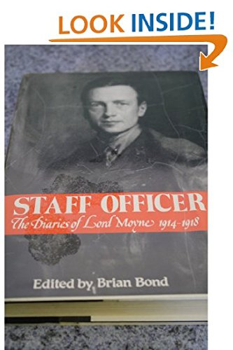 Staff Officer: The Diaries of Lord Moyne,: Moyne, Lord