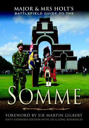 9780850524147: MAJOR AND MRS. HOLT'S BATTLEFIELD GUIDE TO THE SOMME