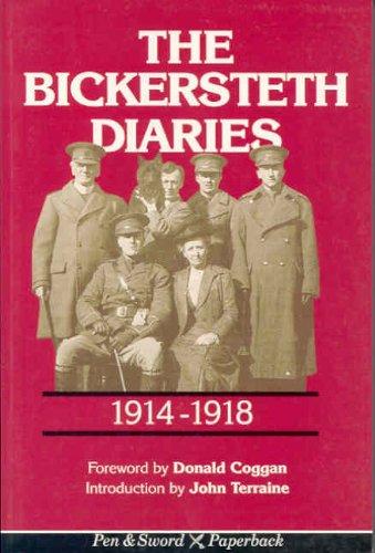 9780850524888: Bickersteth Diaries 1914-1918