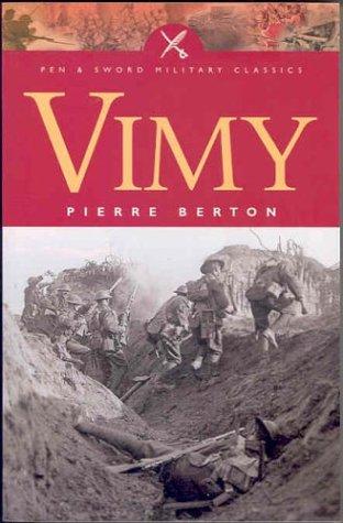 9780850529883: Vimy (Pen & Sword Military Classics)