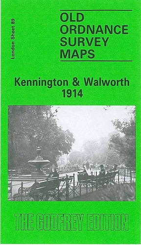 Sheet 89: Kenningtn & Walworth, 1914: Fifteen-inch Ordnance Survey of London