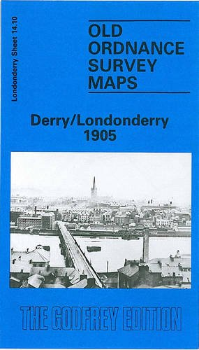 9780850541069: Derry/Londonderry 1905: Londonderry Sheet 14.10 (Old O.S. Maps of Ireland)