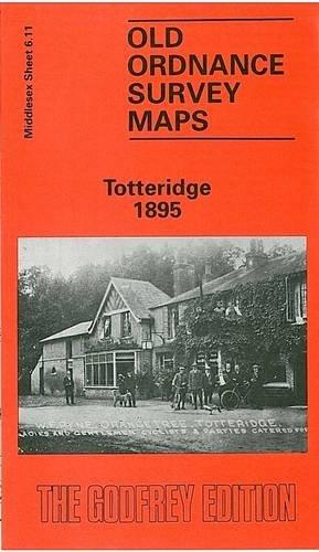 Totteridge 1895: Middlesex Sheet 06.11: John Heathfield, Percy Heathfield