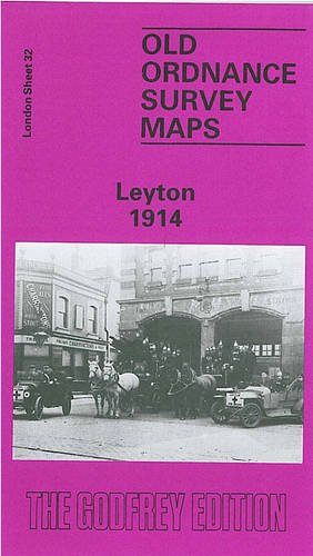9780850544862: Leyton 1914: London Sheet 032.3 (Old Ordnance Survey Maps of London)