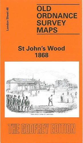 9780850546248: St.John's Wood 1868: London Sheet 048.1 (Old Ordnance Survey Maps of London)