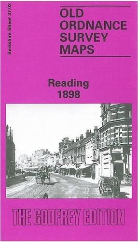 9780850547030: Reading 1898: Berkshire Sheet 37.03 (Old O.S. Maps of Berkshire)