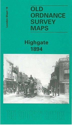 Highgate 1894: London Sheet 19.2 (Sheet map): Pamela Taylor