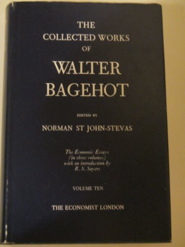 9780850580396: The Collected Works of Walter Bagehot, Vol. 15