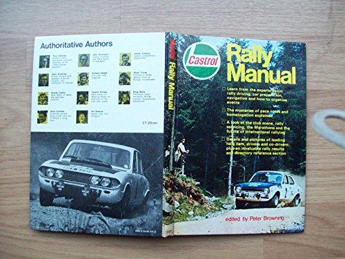 9780850590760: Castrol Rally Manual: No. 1
