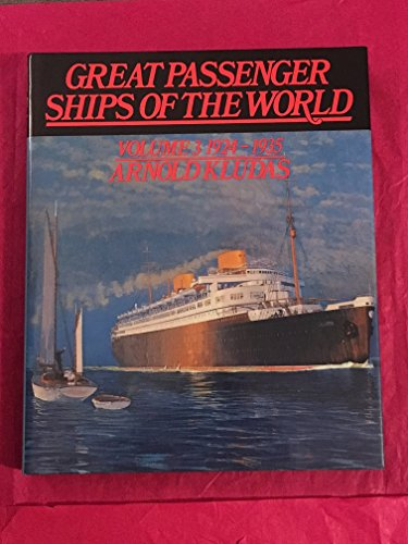 9780850592450: Great Passenger Ships of the World: 1924-1935