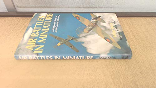9780850592962: Air Battles in Miniature: War-gamers' Guide to Aerial Combat, 1939-45