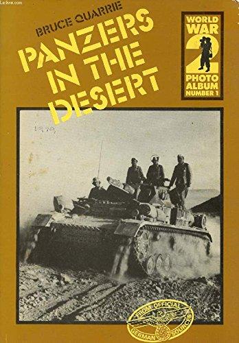 9780850593150: World War II Photo Album: Panzers in the Desert v. 1 (World War 2 photo album)