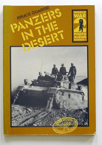 9780850593389: World War II Photo Album: Panzers in the Desert (World War 2 photo album)