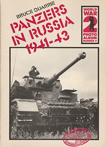 9780850593549: World War II Photo Album: Panzers in Russia, 1941-43 v. 9 (World War 2 photo album)