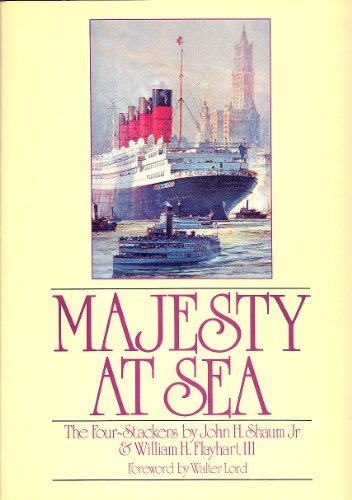 9780850594614: Majesty at Sea: The Four Stackers