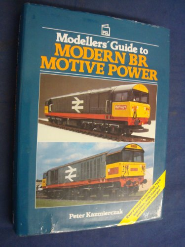 9780850598438: Modeller's Guide to Modern British Rail Motive Power