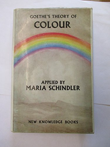 9780850610055: Goethe's Theory of Colour