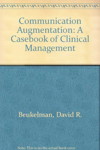 9780850665024: Communication Augmentation: A Casebook of Clinical Management.
