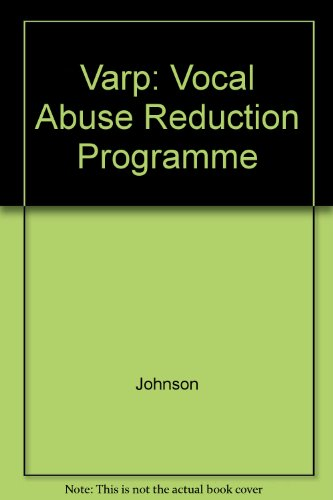 9780850665659: Varp: Vocal Abuse Reduction Programme