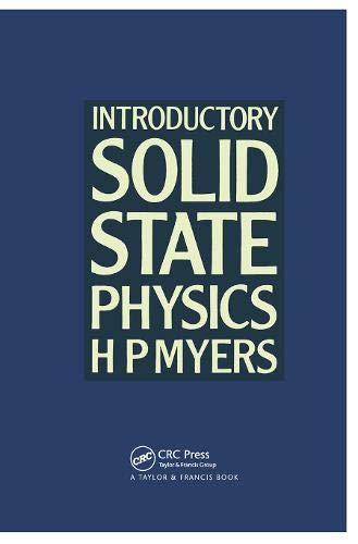 9780850667615: Introductory Solid State Physics