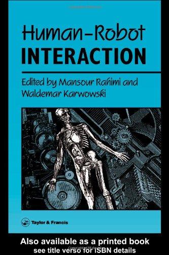 9780850668094: Human-Robot Interaction