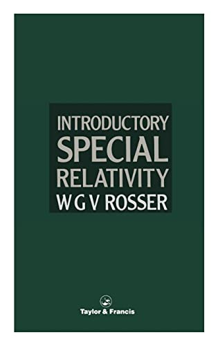 9780850668384: Introductory Special Relativity