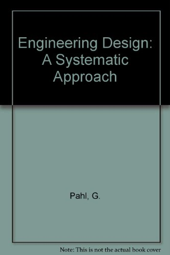 9780850721249: Engineering Design: A Systematic Approach