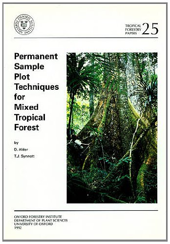 9780850741223: Permanent Sample Plot Techniques for Mixed Tropical Forest (Tropical Forestry Papers)