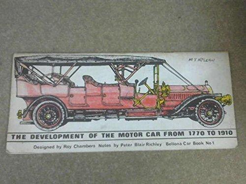 9780850760163: Development of the Motor Car, 1770-1910
