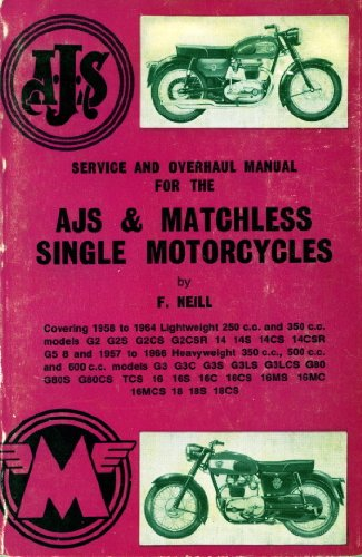 9780850770209: Service and Overhaul Manual for the AJS and Matchless Single Motorcycles