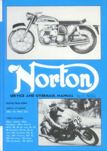 9780850770414: Norton Service and Overhaul Manual