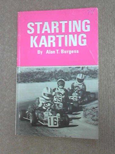 9780850770513: Starting Karting