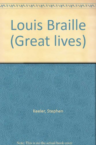 9780850786262: Louis Braille (Great Lives)
