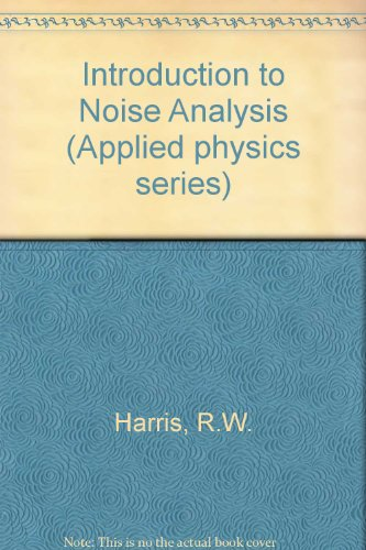 9780850860412: Introduction to Noise Analysis