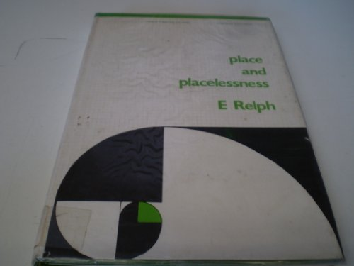 9780850860559: Place and Placelessness