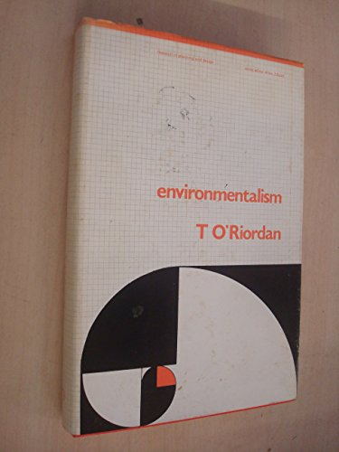 Environmentalism (Research in planning and design): Timothy O''Riordan